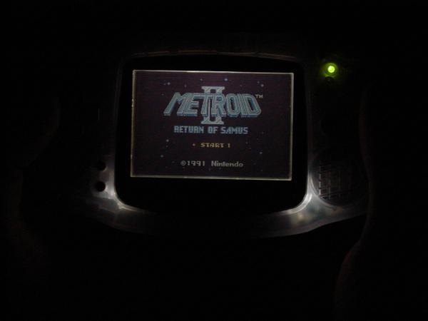 Afterburner Game Boy Advance Game Boy Advance Afterburner